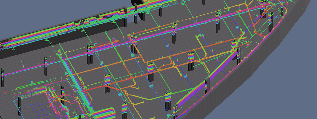 Overhead Services Elevational Colour